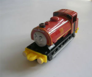 Sixteen diecast ERTL train