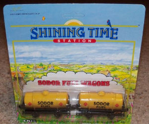 Sodor Fuel Wagons diecast ERTL train
