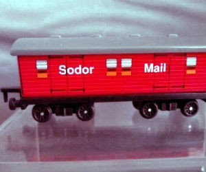 Sodor Mail diecast ERTL train