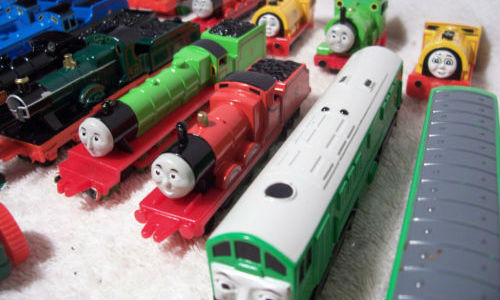 ERTL Thomas the Tank Engine and friends choose from the list of character toys