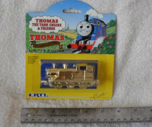 Thomas Gold Anniversary diecast ERTL train