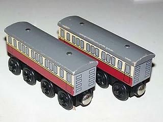 Thomas Wooden Railway – Express coaches