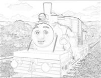 Ferdinand the logging loco from Misty Island Rescue