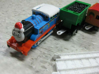 Big Holiday Thomas and with red presents truck