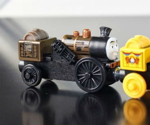 New trains from Tale of the Brave
