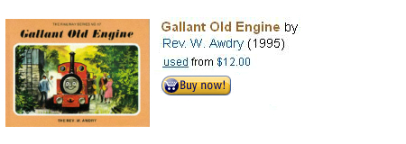 Gallant Old Engine Book by Rev. W. Awdry