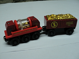 Thomas Wooden Railway – Gold prospector's truck