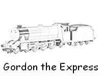 Gordon coloring pages