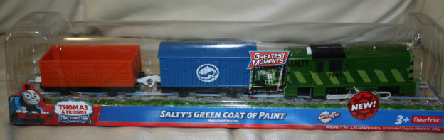 Salty's Green Coat of Paint