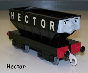 Trackmaster Hector the coal hopper