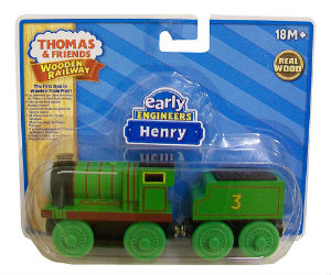 Thomas Wooden Railway - Early Engineers Henry engine