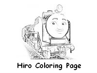 Free Hiro Coloring Page