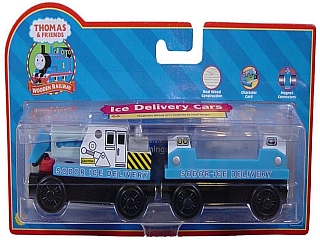 Thomas Wooden Railway – Ice delivery trucks