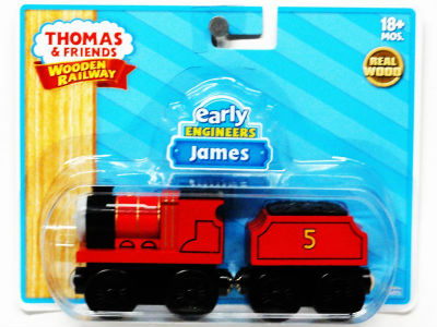 Thomas Wooden Railway - Early Engineers James engine