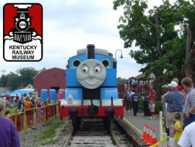 Kentucky Railway Museum Day Out with Thomas