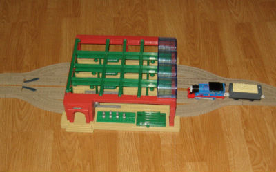 The most popular station: Trackmaster Knapford Station Set