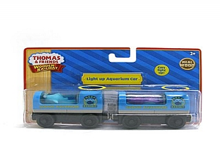 Thomas Wooden Railway – Light up Aquarium cars