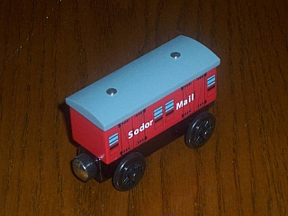 Thomas Wooden Railway – Mail coach