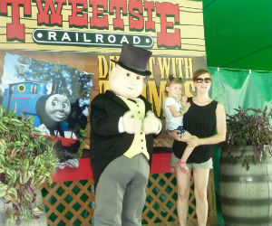 Me, Mom and Sir Topham Hatt