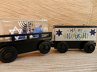 Hanukkah Train Dreidel