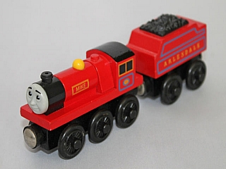 Thomas Wooden Railway - Mike is Engine
