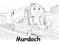 Murdoch coloring page