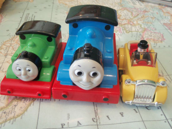 My First Thomas trains by Golden Bear
