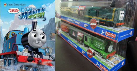 New Thomas trains for 2012 from Blue Mountain Mystery