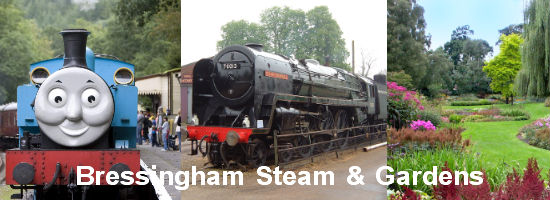 Days Out with Thomas Bressingham Steam and Gardens
