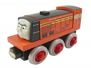Thomas Wooden Railway - Norman is Engine