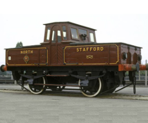 North Staffordshire Railway battery-electric No.1 engine