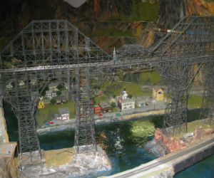 One many bridges at Northlandz