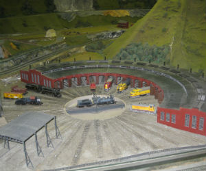 Fantastic train shed at Northlandz