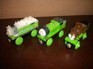 Thomas Wooden Railway - Percy is Engine