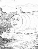 Percy coloring page