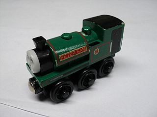 Thomas Wooden Railway - Peter Sam  is Engine