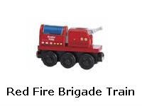 Red Fire Brigade Train recall