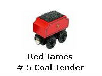 Red James # 5 Coal Tender recall
