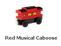 Red Musical Caboose recall
