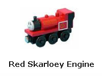 Red Skarloey Engine recall