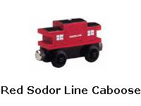 Red Sodor Line Caboose recall