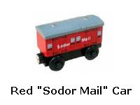 "Red ""Sodor Mail"" Car recall"