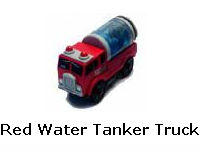 Red Water Tanker Truck recall