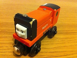 Thomas Wooden Railway - Rusty  is Engine