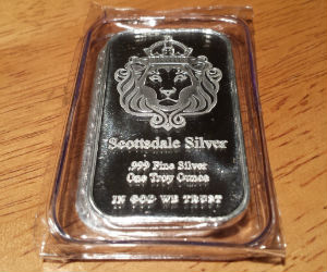 Scottsdale STACKER Silver Bar