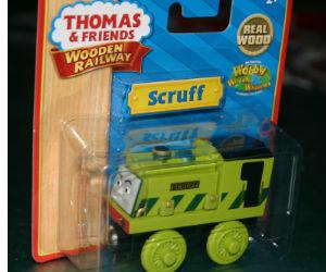 Thomas Wooden Railway - Scruff  is Engine