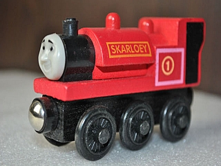 Thomas Wooden Railway - Skarloey is Engine