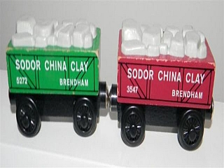 Thomas Wooden Railway – Sodor China Clay Cars