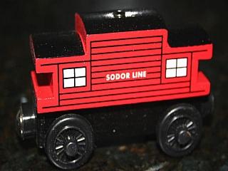 Thomas Wooden Railway – Sodor line caboose