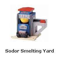 Sodor Smelting Yard recall
